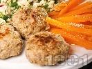 Рецепта Пържени соеви кюфтенца с овесени ядки